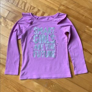 4 for $20  7Y Purple Long Tee for
